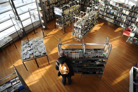 Bibliothèque médiathèque de la Filature