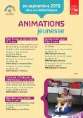 Animations jeunesse - Bibliothèques du réseau