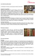 Collections particulières de la bibliothèques Grand'Rue