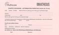 Charte d'adhésion - Autorisation parentale pour les moins de 12 ans