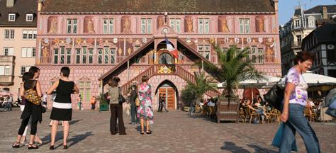 L'Hôtel de ville abrite le musée historique de Mulhouse