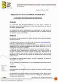 Règlement du concours Bredala 2017