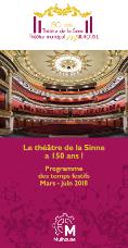 Programme des 150 ans du Théâtre de la Sinne