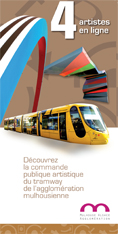Commande publique artistique du tramway