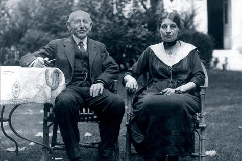 Alfred et Lucie Dreyfus