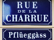 Rue de la Charrue // Pflueggass -