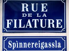 Rue de la Filature // Spinnereigassla -