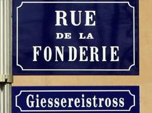 Rue de la Fonderie // Giessereistross -