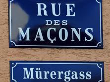 Rue des Maçons // Mürergass -