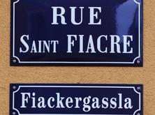 Rue Saint-Fiacre // Fiackergassla -