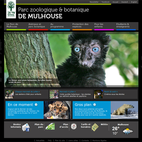 Site internet zoo-mulhouse.com