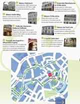 4 siècles de patrimoine à travers 20 bâtiments remarquables. - Sentier du Vieux Mulhouse