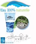 Une eau 100% naturelle