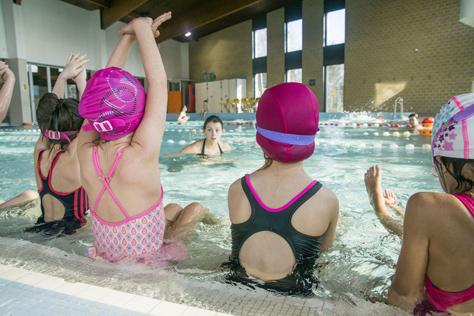 Stage natation à la piscine de l'Illberg