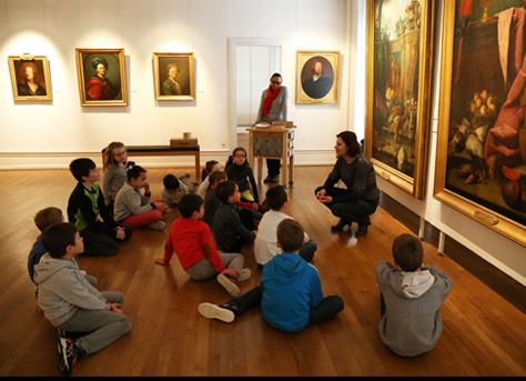 Atelier au musée des Beaux-arts