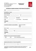 """Formulaire d'inscription au registre municipal """"Plan d'alerte et d'urgence"""""""