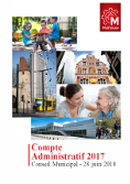 Compte administratif – document officiel 2017