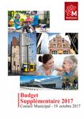 Budget supplémentaire 2017