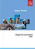 Rapport de présentation du budget primitif 2016