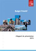 Rapport de présentation du budget primitif 2015