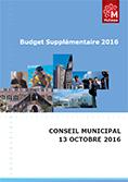Budget supplementaire 2016
