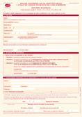 Formulaire d'inscription pour les élections municipales