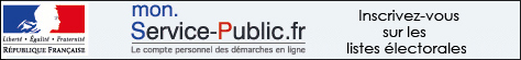 Elections : inscription en ligne