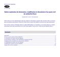 Notice explicative de déclaration, modification et dissolution d'un Pacs