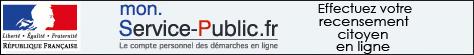 inscription en ligne du recensement citoyen