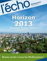 Horizon 2013 : éducation, famille, habitat, commerce... - Janvier 2013