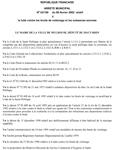 Arrêté Municipal n°2002/100 du 8 février 2002 relatif à la lutte contre les bruits de voisinage