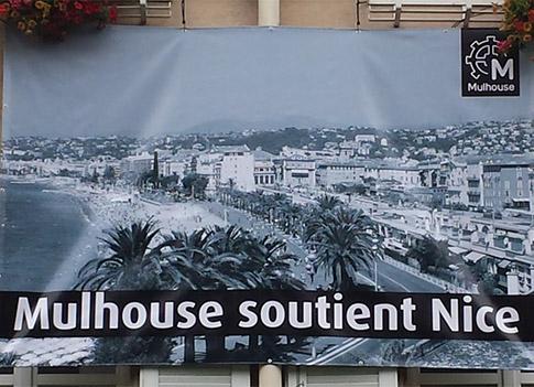 Nice : apporter son soutien aux victimes