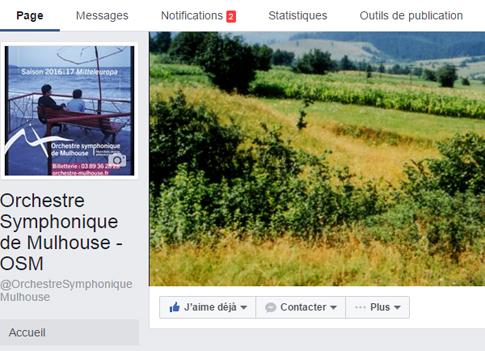 L'OSM sur Facebook