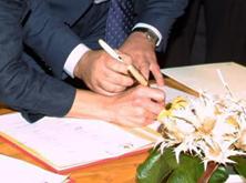 Contrat de mariage et mariage à l'étranger - Acte juridique