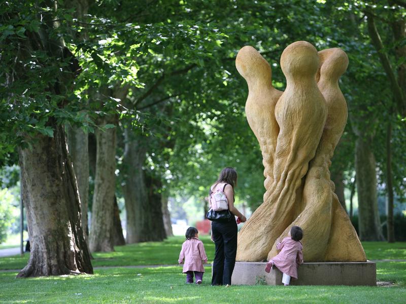 sculpture nouveau bassin