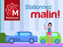 Stationnez malin à Mulhouse !