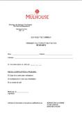 Demande d'autorisation d'accès pour les résidants