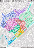Zones de stationnement résidentiel