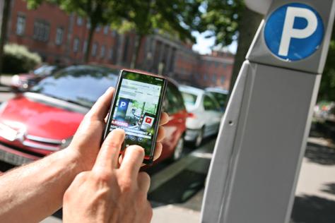 payer son stationnement avec son portable