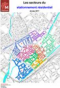 Les secteurs du stationnement résidentiel 2017