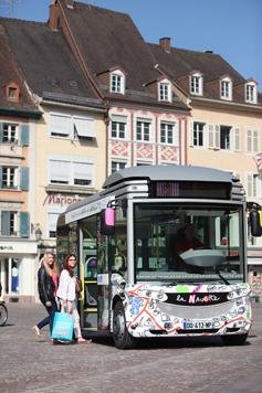 Navette gratuite au centre ville de Mulhouse