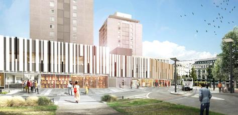 Conservatoire - Crédit TAO Architecte