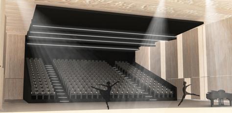 Auditorium - Crédit TAO Architecte
