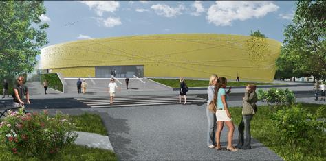 Gymnase de la Doller Crédit DRLW-architectes