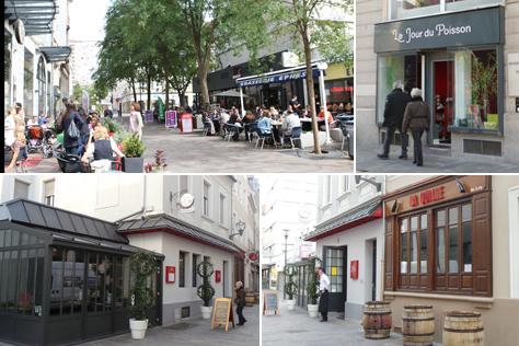 les commerces de la rue de la Moselle