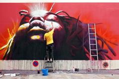 Street art, rue de la Moselle