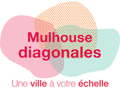 Logo Mulhouse diagonales