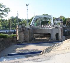 Réalisation d'un passage sous le pont d'Altkirch