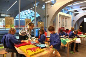 Ateliers péedagogiques d'arts plastiques APAP à Mulhouse