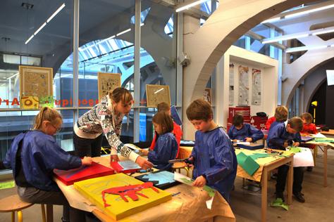 Ateliers péedagogiques d'arts plastiques APAP